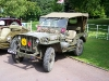 Wolverhampton Bantock House 1940's Show, Sept 2010 - Hotchkiss M201 Jeep (AAW 994 A)