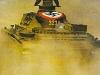 Panzer III Kicking Up Dust