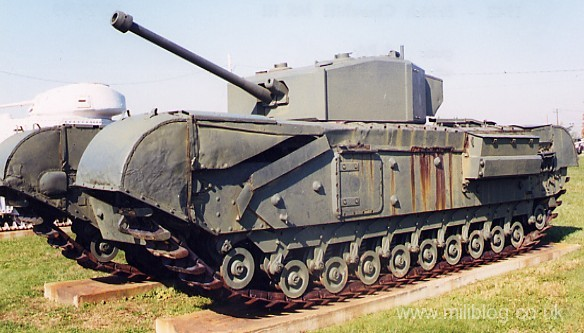 Tanks in the British Army - Wikipedia