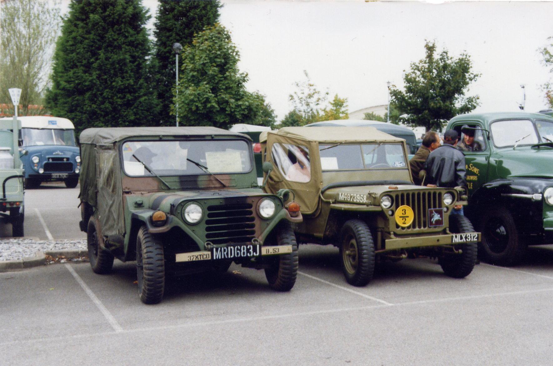 Ford M Mutt Mrd J on Willys Jeep Usmc M38