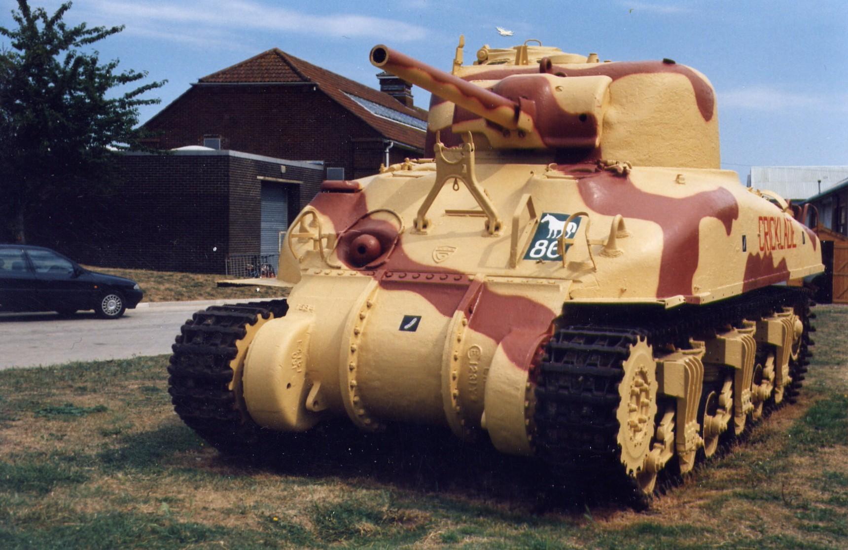 CAN-AM Battleday August 25/12 M4a1-sherman-tank-british-service