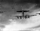 Over Germany - B-17 Flying Fortresses