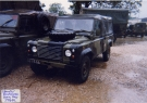 Land Rover 110 Defender (CG 15 AA) Front
