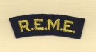 REME (Royal Electrical & Mechanical Engineers) (Embroid)