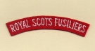 Royal Scots Fusiliers (Embroid)