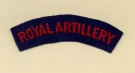 Royal Artillery (Embroid)