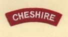 Cheshire Regiment (Embroid)