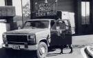 Ford F250 1 Ton Cargo (31-848) Armoured Centre. Taken outside Aust War Memorial workshops, near Canberra, 8 Oct 1987