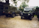 Land Rover 110 Defender (CG 17 AA)