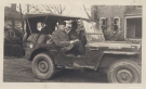 Willys MB Jeep with Officer