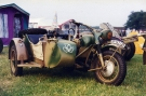 BMW R75 745cc Motorcycle and Sidecar (SS-192730)