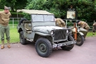 Wolverhampton Bantock House 1940\'s Show September 2009 Willys MB Jeep (SVS 249)