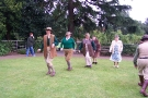 Wolverhampton Bantock House 1940\'s Show September 2009 Dancing Land Army Girls