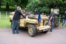 Wolverhampton Bantock House 1940\'s Show September 2009 Willys MB SAS Jeep (389 CVX)