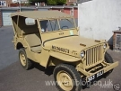 Willys MB Jeep (383 XUJ)(Courtesy of Danny Flanagan)