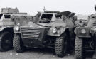 Alvis Saracen Armoured Command Vehicle (83 BA 57)