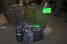Ex-Mil Show, Stafford - Jerry Cans For Sale