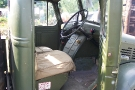 Wartime in the Vale 2010, Bedford OYD 3Ton GS (ESU 588) Inside 3