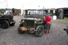 Wartime in the Vale 2010, Ford GPW Jeep (527 UXV)