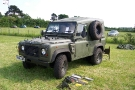 Wartime in the Vale 2010, Land Rover 90 Defender Wolf (P 420 AHR)
