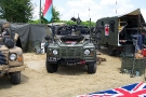 Wartime in the Vale 2010, Land Rover 110 Defender Wolf SAS(LZ 36 AA)