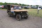 Wartime in the Vale 2010, Willys MB Jeep (473 XUB) on the move