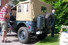 Wolverhampton Bantock House 1940\'s Show, Sept 2010 - Ford GPW Jeep (268 XUY) Rear