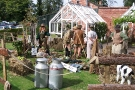 Wolverhampton Bantock House 1940\'s Show, Sept 2010 - Land Army Girls 4