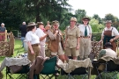 Wolverhampton Bantock House 1940\'s Show, Sept 2010 - Land Army Girls 1