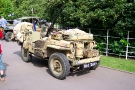 Wolverhampton Bantock House 1940\'s Show, Sept 2010 - Willys MB SAS Jeep (814 XUV)