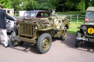 Wolverhampton Bantock House 1940\'s Show, Sept 2010 - Willys MB Jeep (MFO 606)
