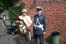 Wolverhampton Bantock House 1940\'s Show, Sept 2010 - Two Military Policemen