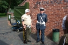 Wolverhampton Bantock House 1940\'s Show, Sept 2010 - Two Military Policemen 2