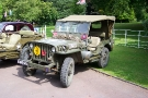 Wolverhampton Bantock House 1940\'s Show, Sept 2010 - Hotchkiss M201 Jeep (AAW 994 A)
