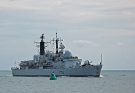 D90 HMS Southampton (Type 42 Class Destroyer)(Copyright of Bruce Burnell) Photographed June 2008