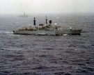 D118 HMS Coventry (Type 42 Class Destroyer) Sank during the Falklands War 1982
