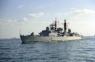 D86 HMS Birmingham (Type 42 Class Destroyer) Photographed March 1993