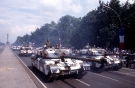Chieftain Tanks at the Allied Forces Day Parade in West Berlin on June 18, 1989