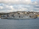 F79 HMS Portland (Type 23 Duke Class Frigate) in Plymouth (Copyright Lord Harris)