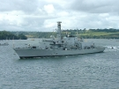 F235 HMS Monmouth (Type 23 Duke Class Frigate) at Plymouth Naval Days, 2007 (Copyright Tehsaint)
