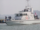 P279 HMS Blazer (Archer Class Navy Patrol Vessel) Poole Harbour, 2007