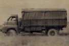 Bedford RL 3 ton 4x4 Cargo Side View