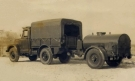 Morris MRA1 1 ton GS towing Water Bowser