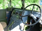 Guy Ant 15cwt GS (GWU 522) Drivers Seat (Courtesy of Denis)
