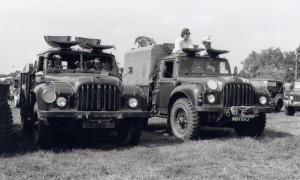 2 x Humber 1 Ton GS
