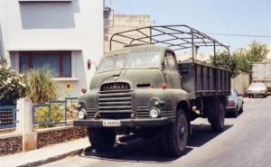 Bedford RL 3Ton 4x4 Cargo (D-9665)(Malta)