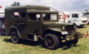 Dodge WC-52 Weapons Carrier Conversion (DR68985)(Dansk)