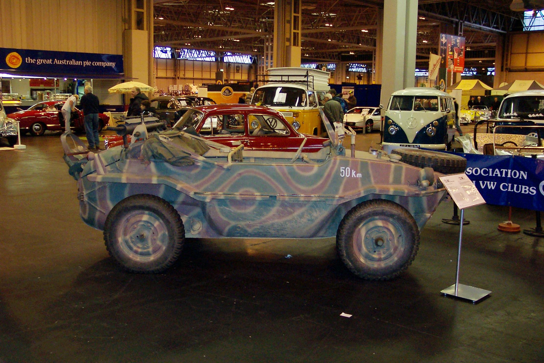 VW Type 166 Schwimmwagen at