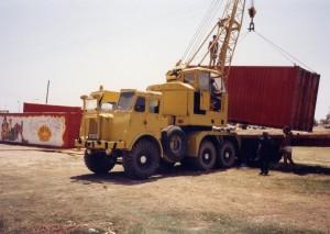 AEC AWD Jones KL10-6 Crane (JK-432)(Cyprus)