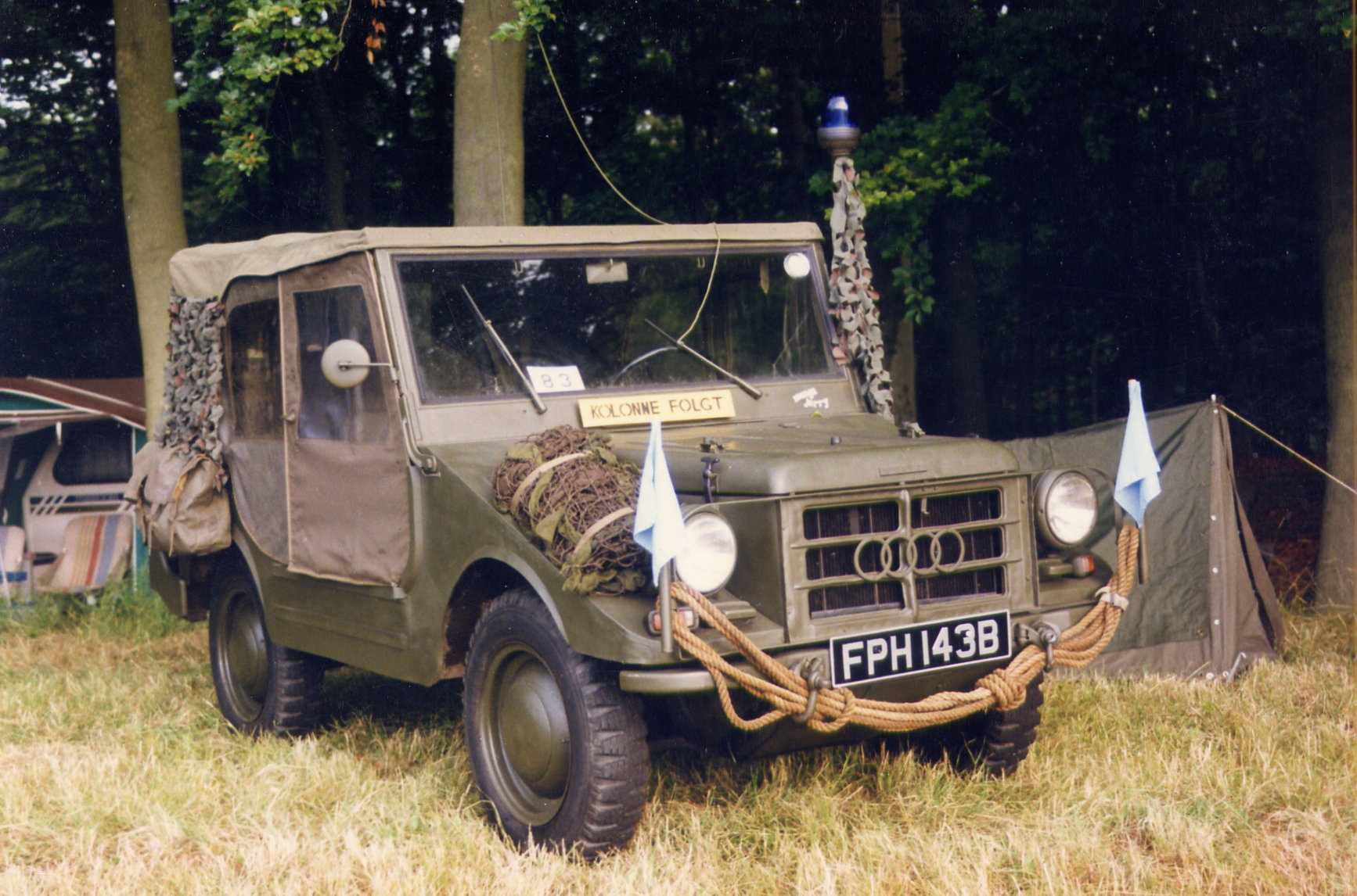 DKW Munga 4x4 Field Car (FPH